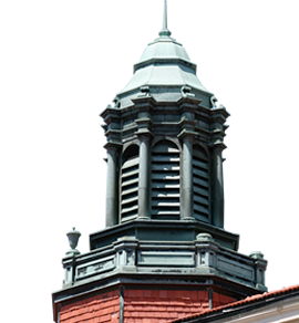 Picture of campus steeple