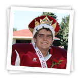 Picture of homecoming king